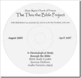 Thru the Bible : Grace Baptist Church of Victoria
